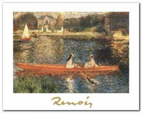 The Seine At Asnieres plakat obraz 30x24cm
