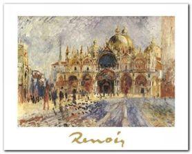 Piazza San Marco plakat obraz 30x24cm