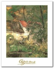 The House Pere Lacroix plakat obraz 24x30cm
