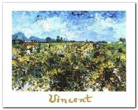 The Green Vineyard plakat obraz 30x24cm