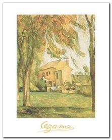 Chestnut-Trees plakat obraz 24x30cm