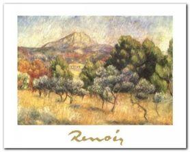 Le Mont Sainte-Victoire plakat obraz 30x24cm