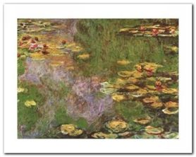 The Water-Lily Pond plakat obraz 30x24cm