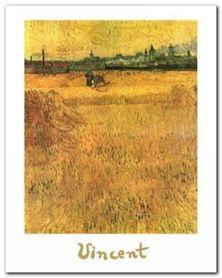 Oat Field plakat obraz 24x30cm