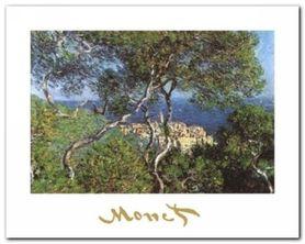 Landscape At Bordighera plakat obraz 30x24cm