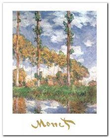 Poplars At Giverny plakat obraz 24x30cm