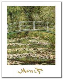 The Water-Lily Pond plakat obraz 24x30cm