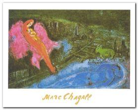 Bridges Over The Seine plakat obraz 30x24cm