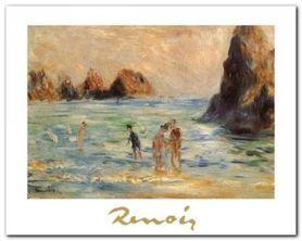 Moulin Huet Bay plakat obraz 30x24cm