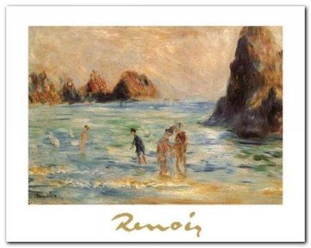 Moulin Huet Bay plakat obraz 30x24cm (1)