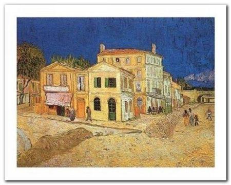 La Casa Gialla - Arles plakat obraz 30x24cm (1)