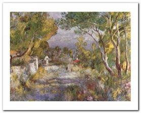 L'Estaque, 1882 plakat obraz 30x24cm