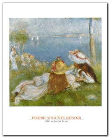 Ragazze In Riva Al Mare plakat obraz 24x30cm (1)