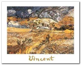 Paesaggio A S. Remy plakat obraz 30x24cm