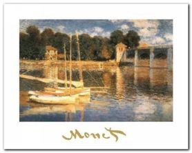 Il Ponte Ad Argenteuil plakat obraz 30x24cm