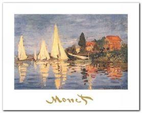 Regata Ad Argenteuil plakat obraz 30x24cm