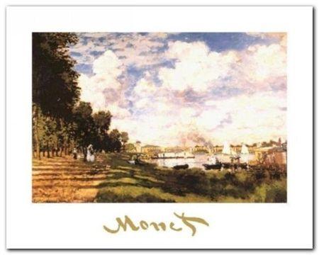 Il Bacino Di Argenteuil plakat obraz 30x24cm (1)