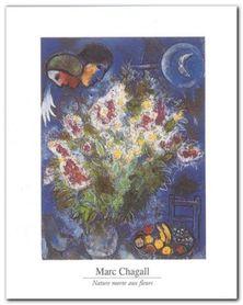 Nature Morte Aux Fleurs plakat obraz 24x30cm
