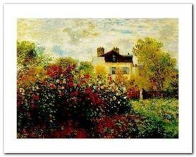 The Artist Garden plakat obraz 30x24cm