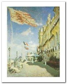 Hotel Des Roches Noires plakat obraz 24x30cm