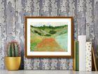 Field Of Poppies plakat obraz 30x24cm (3)