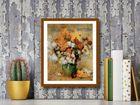 Bouquet plakat obraz 24x30cm (3)