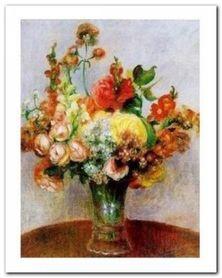 Fleurs Dans Un Vase plakat obraz 24x30cm