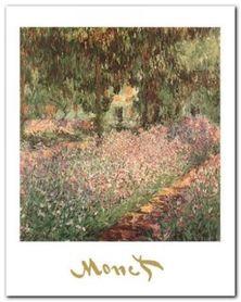 The Monet's Garden plakat obraz 40x50cm