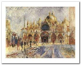 Piazza San Marco plakat obraz 50x40cm