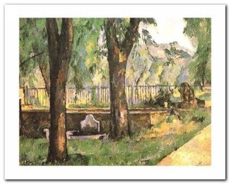 Basin And Fountain plakat obraz 50x40cm (1)