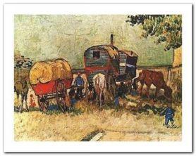 Bivouac Of Gipsy plakat obraz 50x40cm