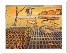 Disintegration plakat obraz 50x40cm