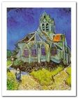 The Church At Auvers plakat obraz 40x50cm (1)