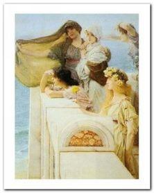 At Aphrodite'S Cradle plakat obraz 40x50cm