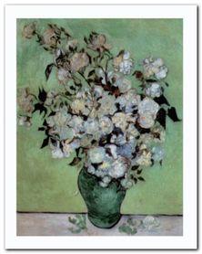 A Vase Of Roses, 1890 plakat obraz 40x50cm