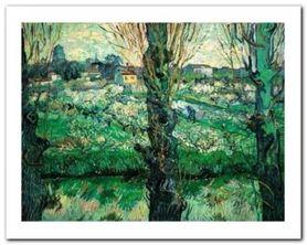 Blick Auf Arles, 1889 plakat obraz 50x40cm