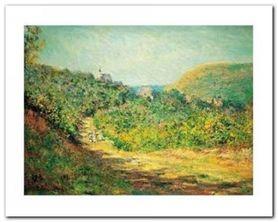 Petites Dalles, 1884 plakat obraz 50x40cm