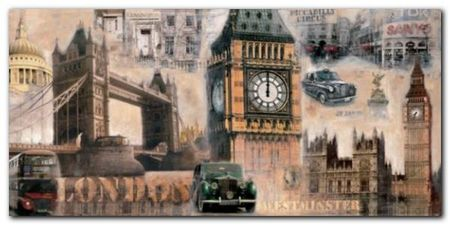 London plakat obraz 100x50cm (1)