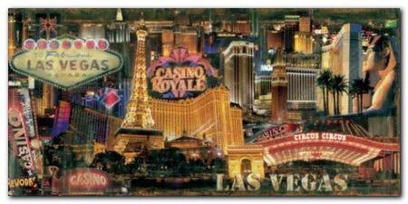 Las Vegas plakat obraz 100x50cm (1)