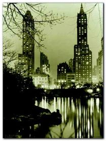 New York Nights plakat obraz 60x80cm
