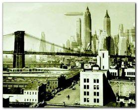 Airship N.Y.C., 1938 plakat obraz 50x40cm