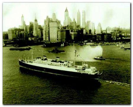 Manhattan New York plakat obraz 50x40cm (1)