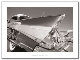 Chevrolet Bel Air plakat obraz 40x30cm