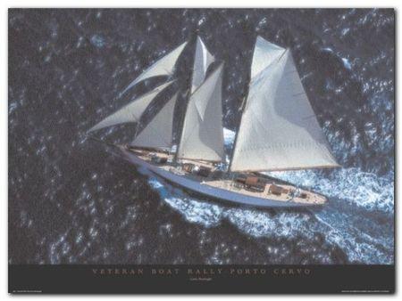 Veteran Boat Rally plakat obraz 80x60cm (1)