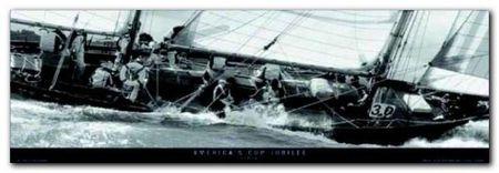 America'S Cup Jubilee plakat obraz 95x33cm (1)