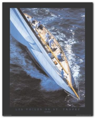 St. Tropez plakat obraz 40x50cm (1)