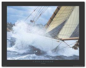 Challenger plakat obraz 50x40cm