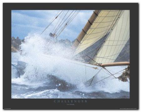 Challenger plakat obraz 50x40cm (1)