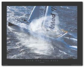 Club Med - The Race plakat obraz 50x40cm
