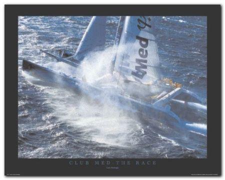 Club Med - The Race plakat obraz 50x40cm (1)